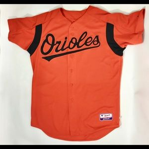 Baltamore Orioles  Orange No. 18 Jersey size 46